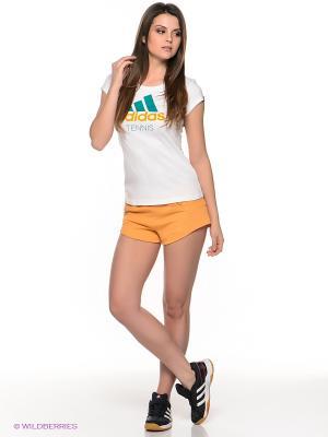 ШОРТЫ YO KNIT SHORT Adidas. Цвет: оранжевый