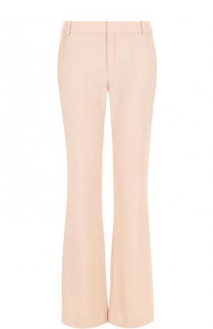 Однотонные расклешённые брюки с карманами Chloé. Цвет: розовый