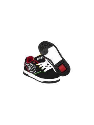 Роликовые кроссовки Heelys Propel 2.0. Цвет: черный, белый, красный