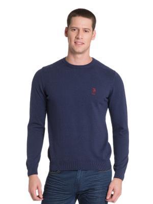 Джемпер U.S. Polo Assn.. Цвет: темно-синий