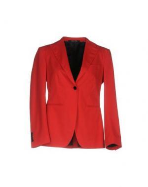 Пиджак BAD SPIRIT. Цвет: красный