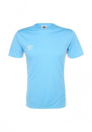 Футболка спортивная Umbro. Цвет: голубой