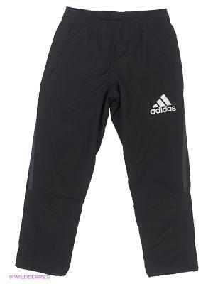 Брюки Yb Clmst Pt Oh Adidas. Цвет: черный