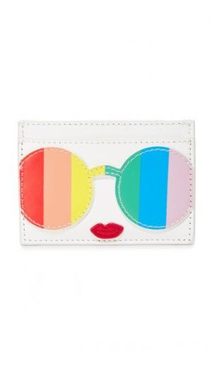 Визитница Rainbow Stacey Face alice + olivia