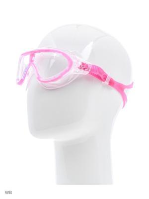 Детские очки для плавания Speedo. Цвет: розовый, голубой, серый
