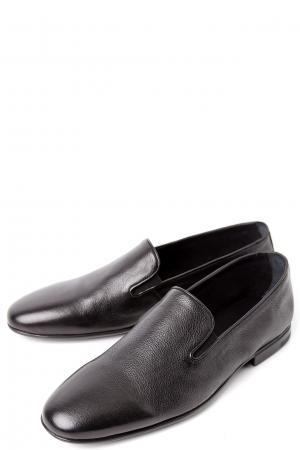 Полуботинки без шнуровки ALBA. Цвет: черный