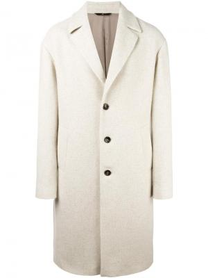 Пальто Ostuni Hevo. Цвет: белый