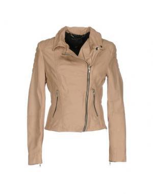 Куртка MUUBAA. Цвет: телесный