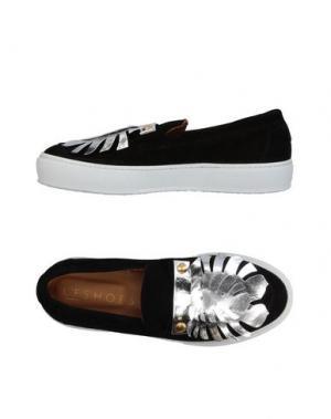 Низкие кеды и кроссовки L'F SHOES. Цвет: черный