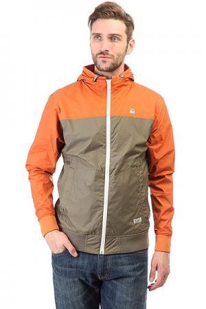 Ветровка  Guildford Jacket Orange Globe. Цвет: оранжевый,зеленый