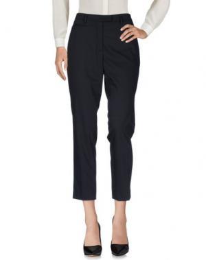 Повседневные брюки TWELVE-T. Цвет: темно-синий