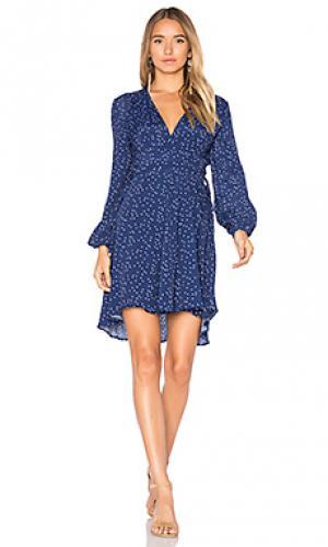 Платье layla ROLLAS ROLLA'S. Цвет: синий