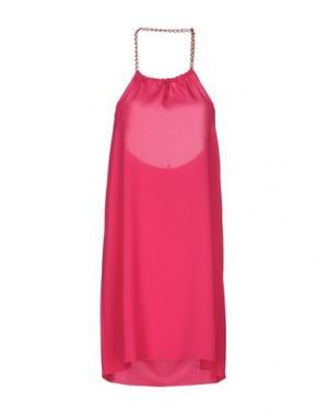 Короткое платье LUPATTELLI. Цвет: фуксия