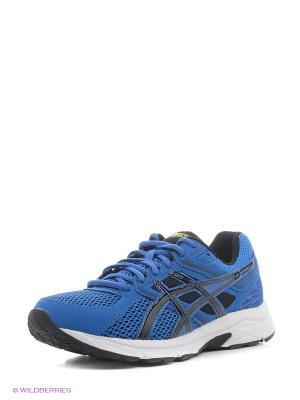 Кроссовки GEL-CONTEND 3 ASICS. Цвет: синий, белый, черный