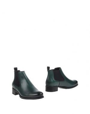 Полусапоги и высокие ботинки TREMP. Цвет: изумрудно-зеленый
