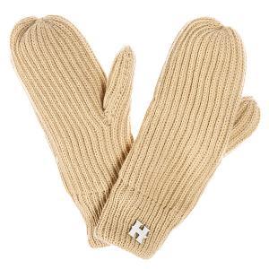 Варежки женские  Beatrice Gloves Beige Harrison. Цвет: бежевый