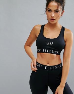 Elle Sport Бюстгальтер на косточках s. Цвет: черный