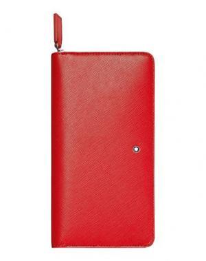 Бумажник MONTBLANC. Цвет: красный