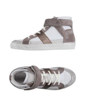 Высокие кеды и кроссовки JANET SPORT. Цвет: белый