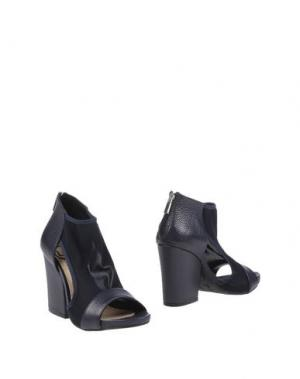 Ботинки LORENZO MARI. Цвет: темно-синий