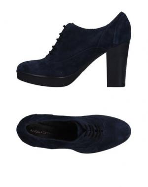 Обувь на шнурках ANGELA GEORGE. Цвет: темно-синий