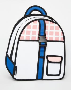 JumpFromPaper Рюкзак с пряжкой. Цвет: розовый