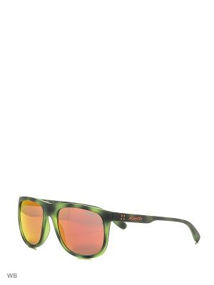 Очки солнцезащитные ARNETTE. Цвет: зеленый