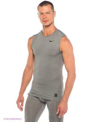 Майка COOL COMP SL Nike. Цвет: серый