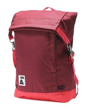 Рюкзаки и сумки на пояс POLER. Цвет: красно-коричневый