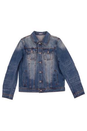 Жакет Gulliver. Цвет: синяя джинса