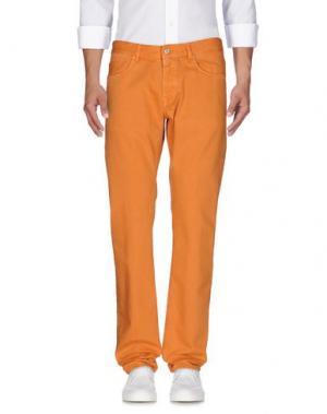 Джинсовые брюки MAURO GRIFONI. Цвет: оранжевый