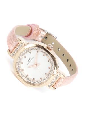 Часы на ремне IBSO. Цвет: бледно-розовый