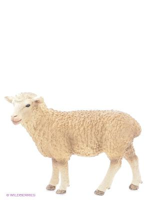 Овца SCHLEICH. Цвет: белый