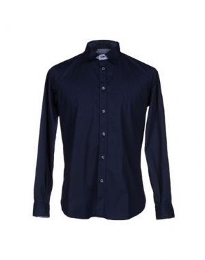 Pубашка HAVANA & CO.. Цвет: темно-синий