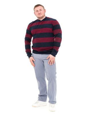 Пуловер Westrenger. Цвет: черный, темно-красный
