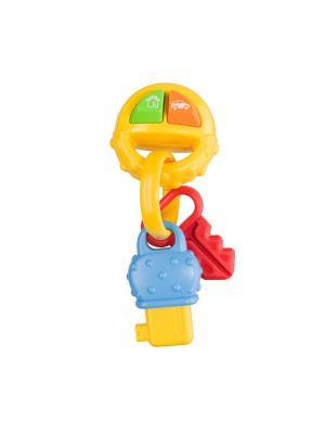 Игрушка PIP-PIP KEYS Happy Baby. Цвет: светло-зеленый, белый, желтый, красный, оранжевый