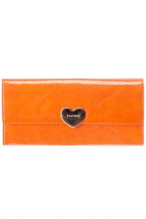 Кошелек PIACERE. Цвет: оранжевый