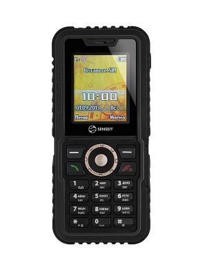 Телефон Senseit P7. Цвет: черный