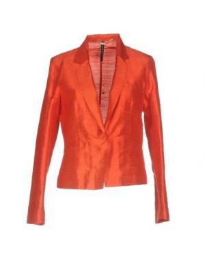 Пиджак MANILA GRACE. Цвет: коралловый