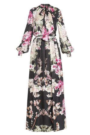 Платье из шелка 148317 Yanina. Цвет: разноцветный