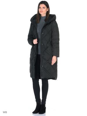 Пальто Romantic Collection.. Цвет: черный
