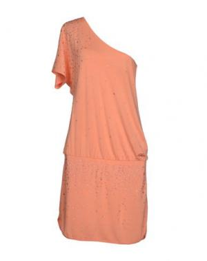 Короткое платье MET MIAMI COCKTAIL. Цвет: лососево-розовый