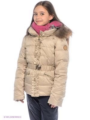 Куртка Pulka. Цвет: светло-бежевый