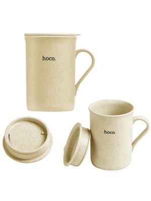 Чашка Hoco CP3 Beige. Цвет: бежевый