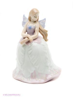 Фигурка Эльфина Pavone. Цвет: светло-зеленый, голубой, бежевый, бледно-розовый