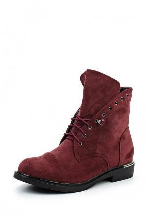 Ботинки Y & L. Цвет: бордовый