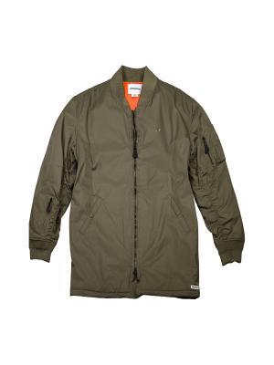 Пальто CONS Varsity Coaches Jacket Converse. Цвет: зеленый