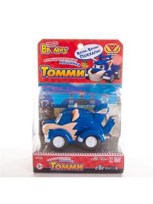 Игрушка Врумиз функциональная машинка Томми. Цвет: темно-синий