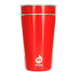 Стакан  Party Cup Set Glossy Red Le Mizu. Цвет: красный