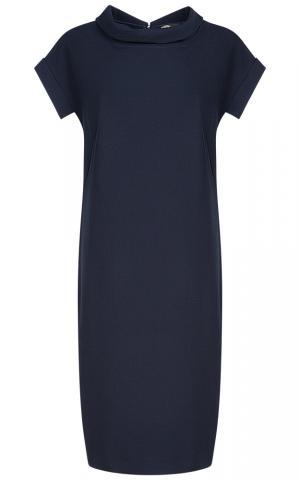 Темно-синее платье Le monique